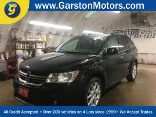 Used 2015 Dodge Journey R/T*AWD*LEATHER*POWER SUNROOF*KEYLESS ENTRY w/REMOTE START*ALPINE AUDIO*REAR DVD PLAYER*HEATED FRONT SEATS/STEERING WHEEL*BACK UP CAMERA*TRI ZONE CLIM for sale in Cambridge, ON