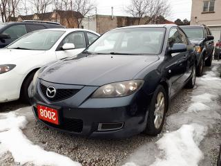 Used 2008 Mazda MAZDA3 GS/CERTIFIED for sale in Scarborough, ON