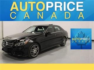 Used 2015 Mercedes-Benz E-Class BlueTEC AMG WHEELS NAVI PANOROOF for sale in Mississauga, ON