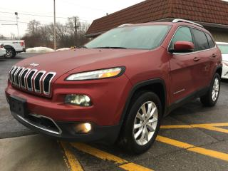 Used 2017 Jeep Cherokee Limited for sale in Cobourg, ON