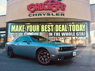 Used 2017 Dodge Challenger R/T SHAKER P-ROOF NAVI R-CAM COOLED SEATS SHAKER for sale in Scarborough, ON