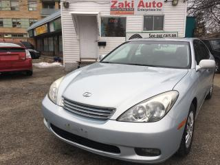 Used 2002 Lexus ES 300 w/Luxury Pkg . Safety&E Test Included The Price for sale in Scarborough, ON