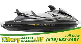 New 2018 Yamaha VX CRUISER HO CARBON/WHITE for sale in Tilbury, ON