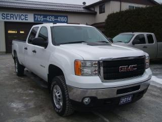 Used 2014 GMC Sierra 2500 SLE , 4X4, Crew Cab, Long Box for sale in Beaverton, ON