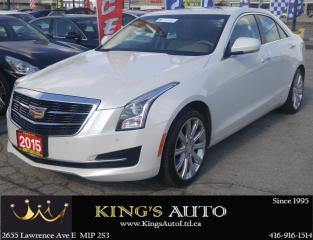 Used 2015 Cadillac ATS LUXURY AWD, LOADED!!! for sale in Scarborough, ON
