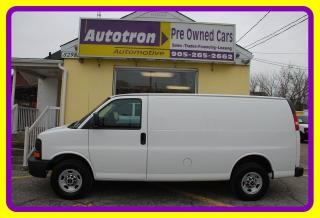 Used 2010 GMC Savana 2500 LOW KM! 3/4 Ton Cargo Van, A/C for sale in Woodbridge, ON