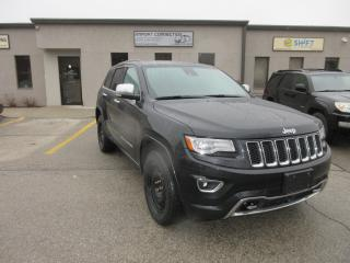 Used 2014 Jeep Grand Cherokee Overland for sale in Burlington, ON