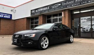 Used 2013 Audi A5 COUPE AWD quattro NO ACCIDENT for sale in Mississauga, ON