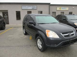 Used 2003 Honda CR-V EX,4WD,NO ACCIDENTS,ONE OWNER for sale in Burlington, ON