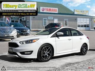 Used 2016 Ford Focus SE. GREAT CAR! CLEAN. FUN TO DRIVE. for sale in Tilbury, ON