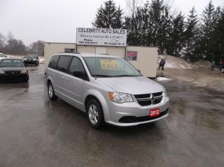 Used 2012 Dodge Grand Caravan SE STO N GO for sale in Elmvale, ON