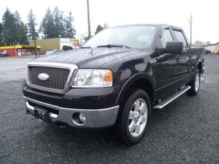 Used 2007 Ford F-150 Lariat for sale in Parksville, BC