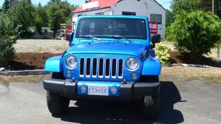Used 2016 Jeep Wrangler Sahara for sale in Parksville, BC