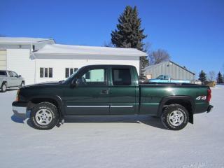 Used 2003 Chevrolet Silverado 1500 LS for sale in Melfort, SK