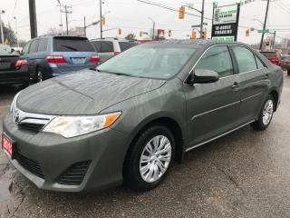 Used 2012 Toyota Camry LE l Auto l Bluetooth l One Own l No Accidents for sale in Waterloo, ON