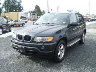 Used 2003 BMW X5 3.0i for sale in Parksville, BC
