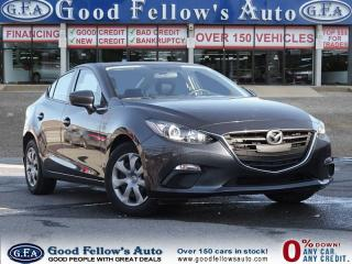 Used 2015 Mazda MAZDA3 GX MODEL, SKYACTIV, POWER MIRROR, POWER WINDOWS for sale in North York, ON