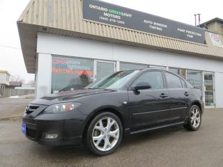 Used 2007 Mazda MAZDA3 GT, LEATHER, SUNROOF, 17