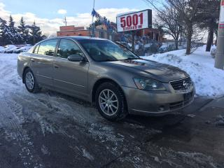 Used 2005 Nissan Altima 2.5,AUTO,4CYL,SAFETY+3YEARS WARRANTY INCLUDED for sale in North York, ON