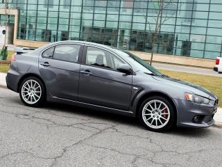 Used 2008 Mitsubishi Lancer Evolution GSR|ALLOYS|SPOILER|MANUAL for sale in Scarborough, ON
