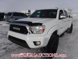Used 2015 Toyota TACOMA LIMITED DOUBLE CAB 4X4 V6 AT 4.0L for sale in Calgary, AB