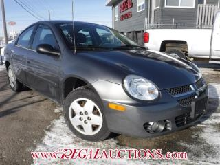 Used 2005 Dodge SX 2.0 SX 4D SEDAN for sale in Calgary, AB