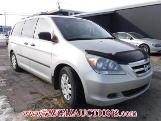 Used 2005 Honda Odyssey WAGON for sale in Calgary, AB