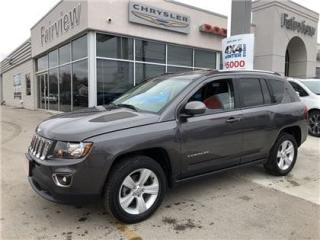 Used 2016 Jeep Compass High Altitude Not a Rental/Leather for sale in Burlington, ON