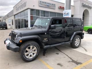 Used 2015 Jeep Wrangler Unlimited Sahara..Very Clean Great Deal for sale in Burlington, ON