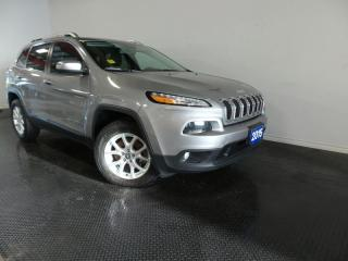 Used 2015 Jeep Cherokee NORTH 3.2L V6 for sale in Midland, ON