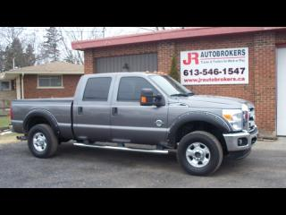 Used 2011 Ford F-250 6.7L Diesel SD SuperCrew XLT 4X4 for sale in Elginburg, ON