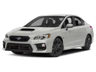 New 2018 Subaru WRX Base for sale in Vernon, BC