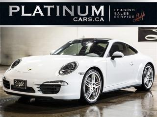 Used 2015 Porsche 911 CARRERA 4S, SPORT CHRONO, NAVI, CAM, ROOF for sale in North York, ON