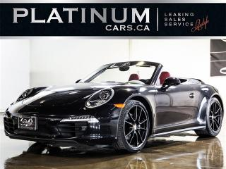 Used 2015 Porsche 911 CARRERA 4 CABRIOLET, SPORT CHRONO, PDK, NAVI for sale in North York, ON