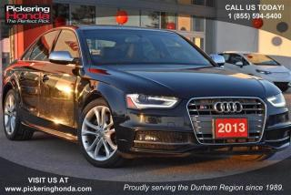 Used 2013 Audi S4 3.0T Prem S tronic qtro for sale in Pickering, ON