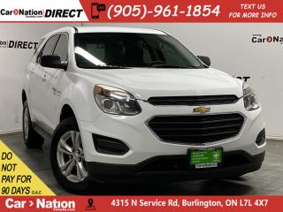 Used 2016 Chevrolet Equinox LS| AWD| LOCAL TRADE| BACK UP CAMERA| for sale in Burlington, ON