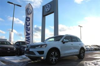 Used 2017 Volkswagen Touareg 3.6L Wolfsburg Edition (A8) for sale in Whitby, ON
