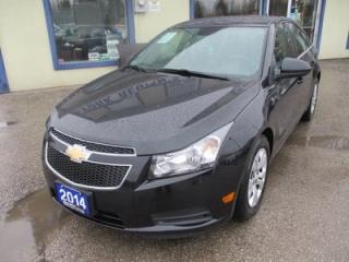 Used 2014 Chevrolet Cruze 'GREAT KM'S' POWER EQUIPPED 1-LT MODEL 5 PASSENGER 1.4L - TURBO.. CD/AUX/USB INPUT.. KEYLESS ENTRY.. for sale in Bradford, ON