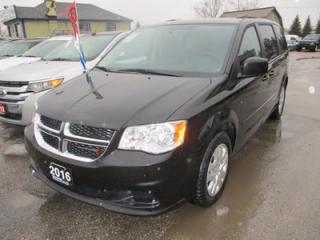 Used 2016 Dodge Grand Caravan FAMILY MOVING SXT MODEL 7 PASSENGER 3.6L - V6.. CAPTAINS.. STOW-N-GO.. CD/AUX INPUT.. ECON-BOOST.. FLEX FUEL.. for sale in Bradford, ON