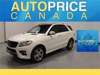 Used 2014 Mercedes-Benz ML-Class BLUETECH NAVI PANOROOF REAR CAN for sale in Mississauga, ON