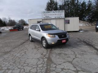 Used 2009 Hyundai Santa Fe AWD GL for sale in Elmvale, ON