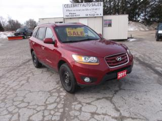 Used 2011 Hyundai Santa Fe AWD LIMITED for sale in Elmvale, ON