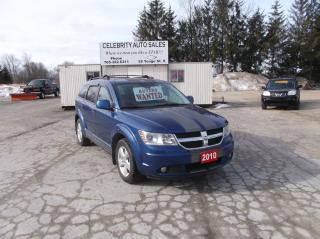 Used 2010 Dodge Journey SXT for sale in Elmvale, ON