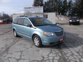 Used 2010 Chrysler Town & Country LIMITED TOURING for sale in Elmvale, ON