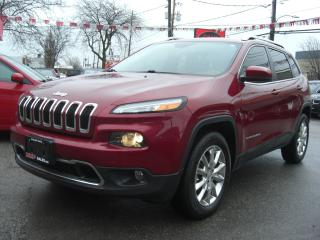 Used 2014 Jeep Cherokee Limited 4WD for sale in London, ON