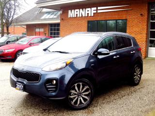 Used 2017 Kia Sportage EX AWD LEATHER PANORAMIC CERT for sale in Concord, ON