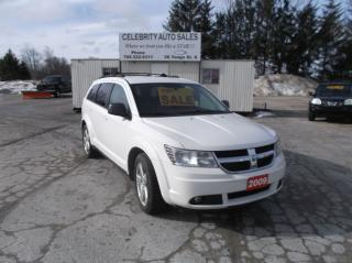 Used 2009 Dodge Journey AWD SXT 3 ROW for sale in Elmvale, ON
