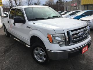 Used 2009 Ford F-150 XLT / Auto / Alloys / Crew Cab / Side Steps for sale in Scarborough, ON