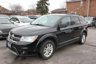 Used 2015 Dodge Journey SXT 7 Passenger for sale in Brampton, ON