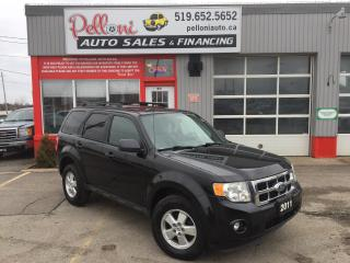 Used 2011 Ford Escape XLT LEATHER+SUNROOF BRAND NEW WINTER TIRES for sale in London, ON